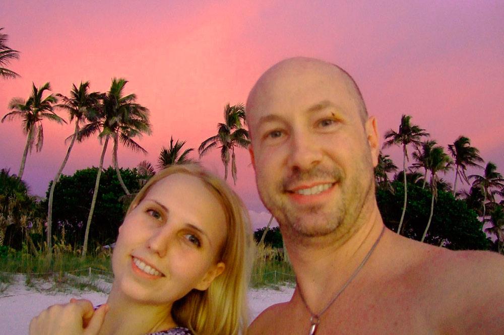 С мужем в Америке